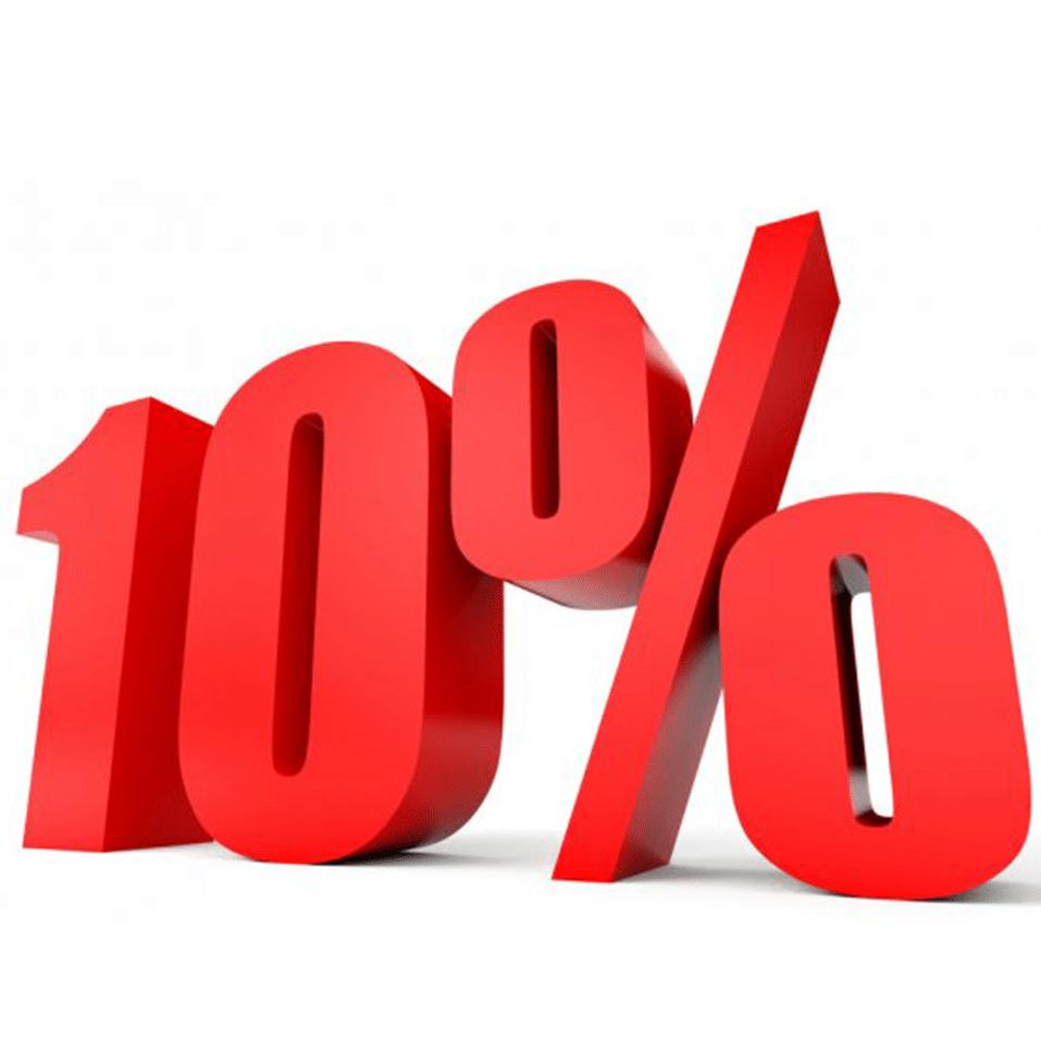 10% Сидка на первый заказ!